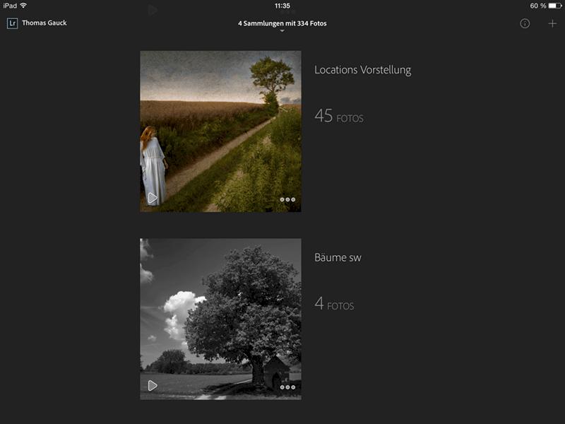 Lightroom 5.4 und die offizielle Adobe Lightroom App 1