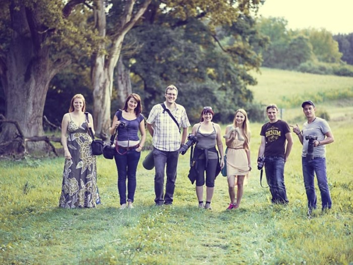 Portraitfotografie Outdoor Workshop Teilnehmer
