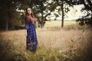 Inszenierte Portraitfotografie Outdoor