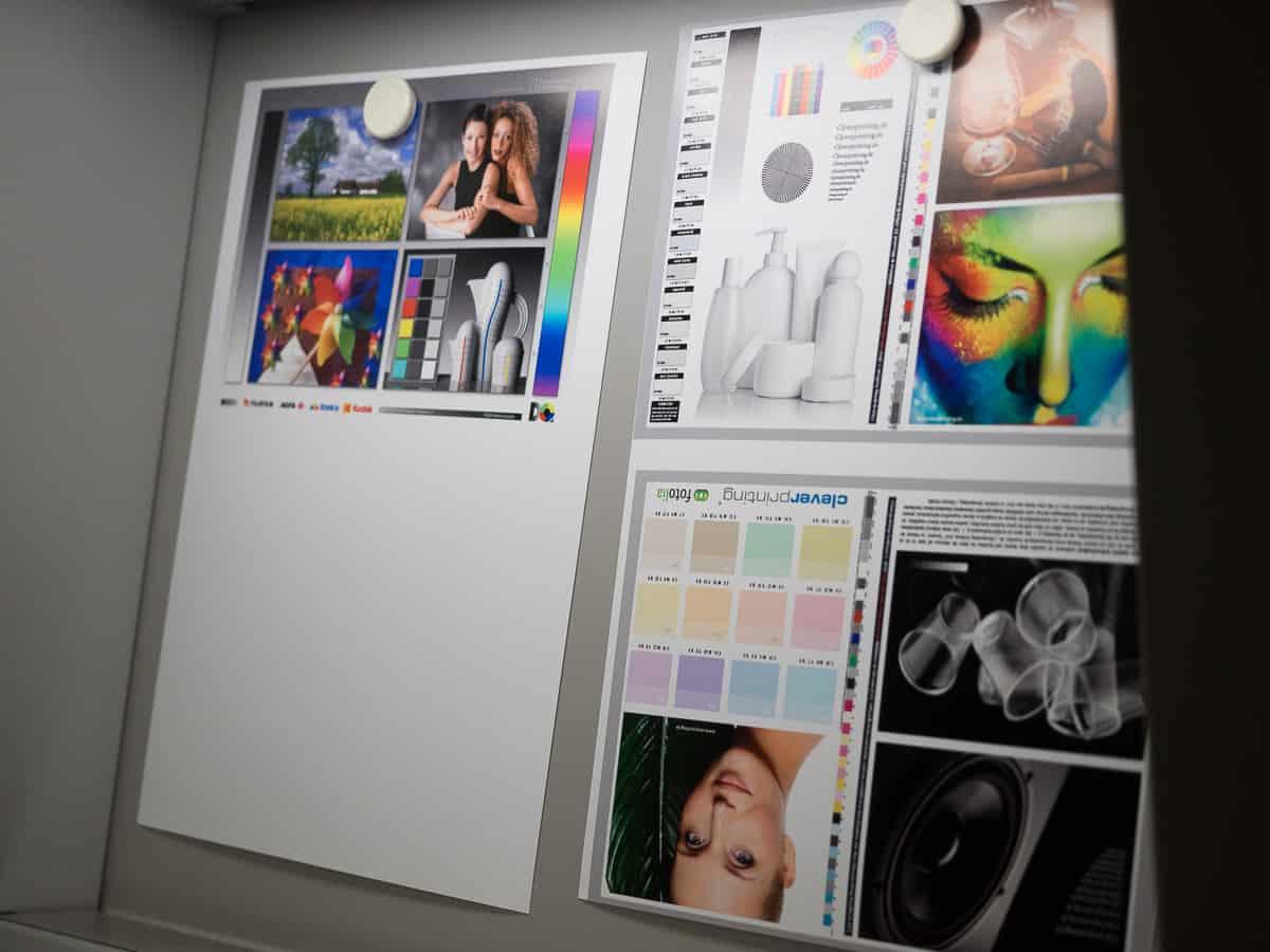 Fine-Art Printing Workshop Tageslichtlampe