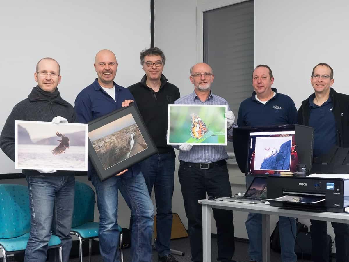 Fine-Art Printing Workshop Teilnehmer