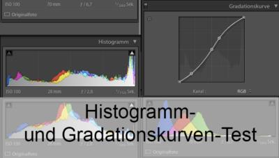 Histogramm- und Gradationskurven-Test