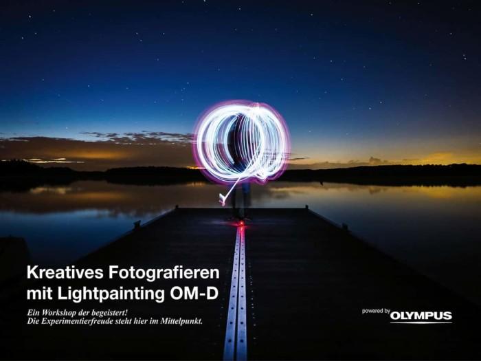 Lightpainting mit der Olympus OM-D